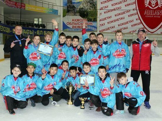 В Казахстане определилась самая сильная детская хоккейная команда