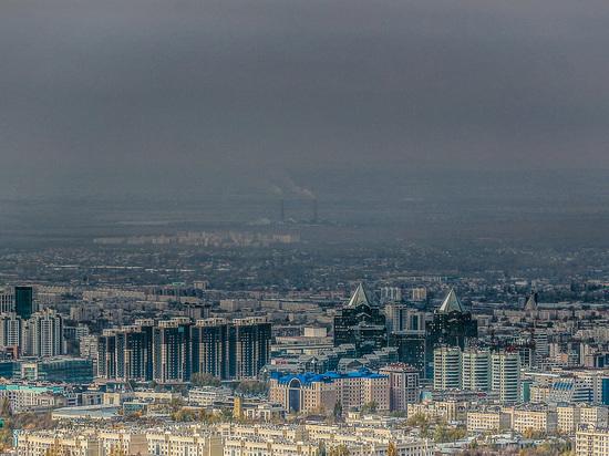 Экологическая обстановка в Алматы подошла к критическому уровню