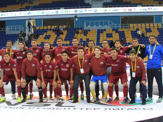 Команда «Каспийский университет» по футзалу вновь одерживает впечатляющие победы