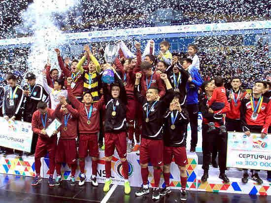 Команда «Каспийский университет» стала победителем финального этапа Национальной студенческой лиги по футзалу