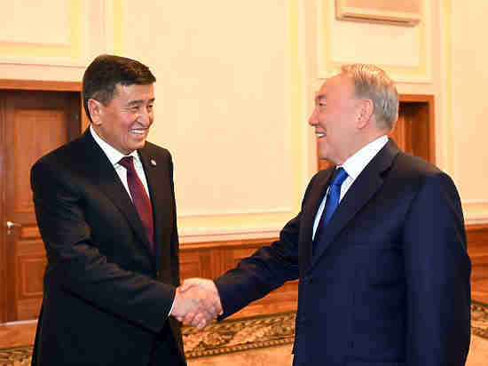 Похоже отношения между Астаной и Бишкеком начинают налаживаться